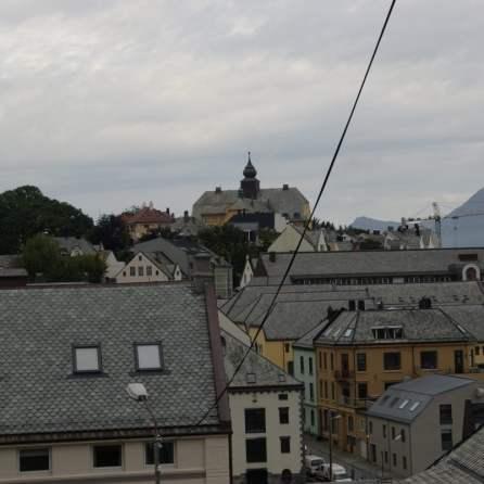 Blick von der Lihanggata Alesund