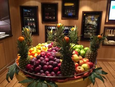 Kostenlose Snacks Obst Aida Ananas Äpfel Orangen