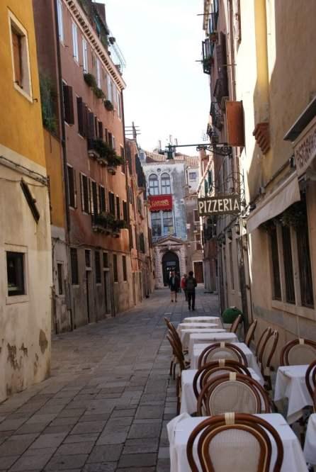 Hübsche Gässchen Venedig