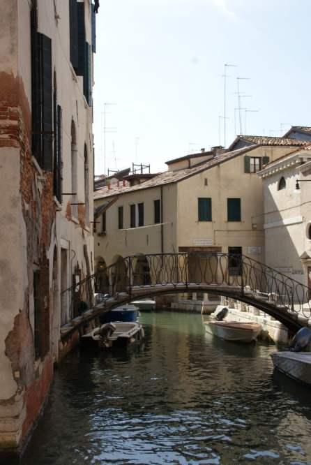 Schmiedeeiserne Brücken Venedig