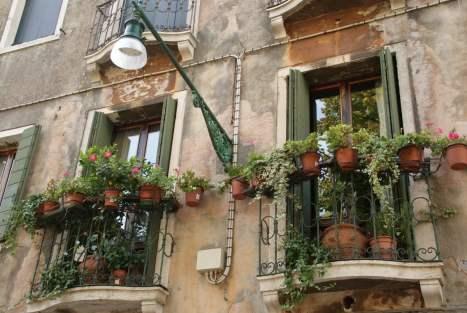 Italienischer Topfgarten Venedig