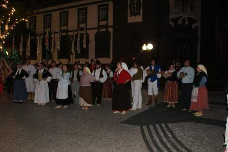 Folkloregruppe in Funchal auf Madeira