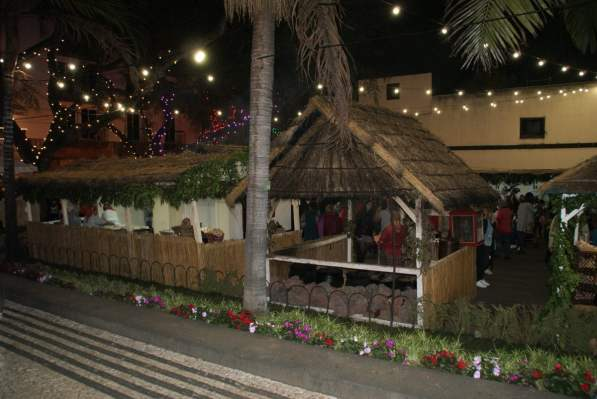 Dorf Weihnachtsmarkt Funchal