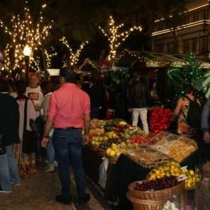 Früchte auf dem Weihnachtsmarkt Funchal