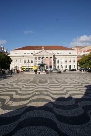Rossio/ Praca de D. Pedro IV Lissabon