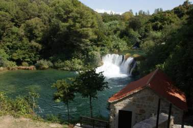 Wasserfall Nationalpark Krka Skradinski buk Kroatien