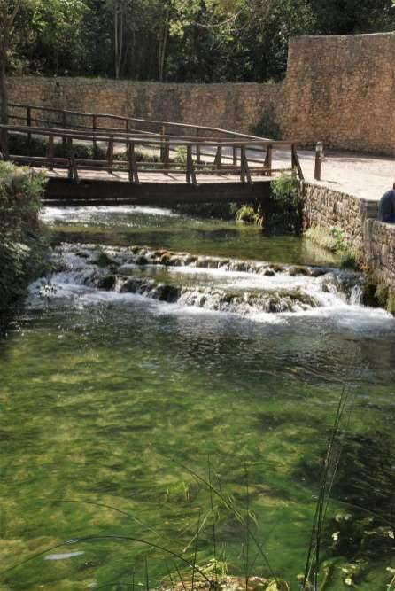 Mühlbach Alte Mühle Nationalpark Krka Kroatien Brücke Fluss
