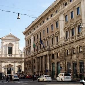 Straße Via del Corso Rom