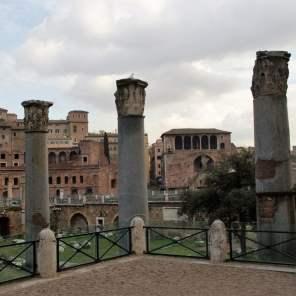 Trajansforum ist eine Erweiterung des Forum Romanum