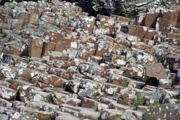 60 Millionen Jahre alte Steine Giants Causeway