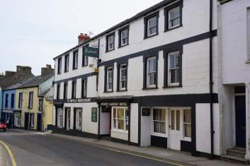 West St. in Fishguard