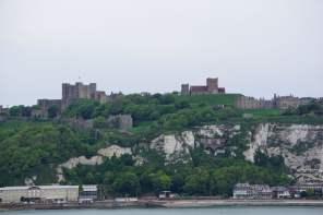 Dover Castle Kreidefelsen Hafen Ärmelkanal Meer Aida Kreuzfahrt
