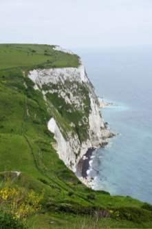 Die Kreidefelsen von Dover Meer Wiese Ausblick Panorama