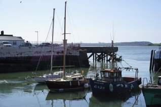 Kleiner Hafen Cobh Irland Meer