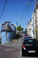 East Beach Häuser Straße Cobh Irland