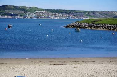 Weg nach Weymouth Isle of Portland