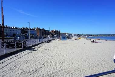 Der Strand von Weymoth