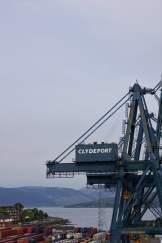Hafen von Greenock