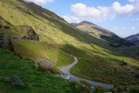 Alte Militärstrasse Schottland Highlands