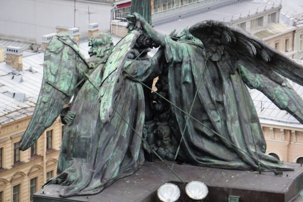 Skulptur der Engel