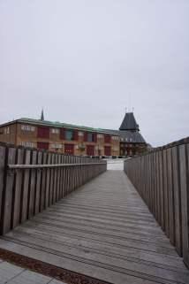 Brücke zum ehemaligen Zollamt Aarhus