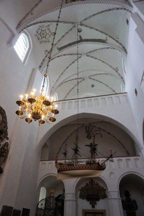 Schiff im Dom Aarhus