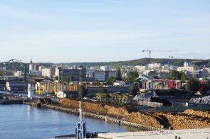 Industrie Hafen