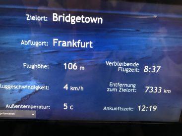 Flug von Frankfurt