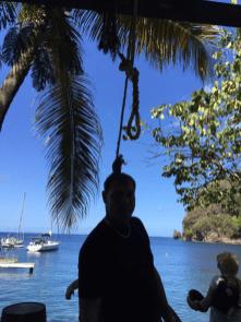 Galgen - Lieblingsrequisit der Touristen