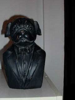 Tuxedo Pug Statue