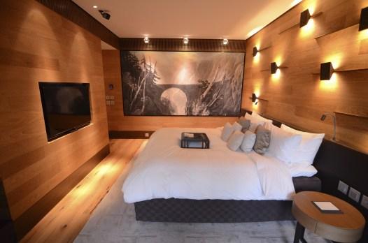 Chambre 2 - Le Chedi Andermatt - Spectaculaire hôtel - Hôtel, Suisse