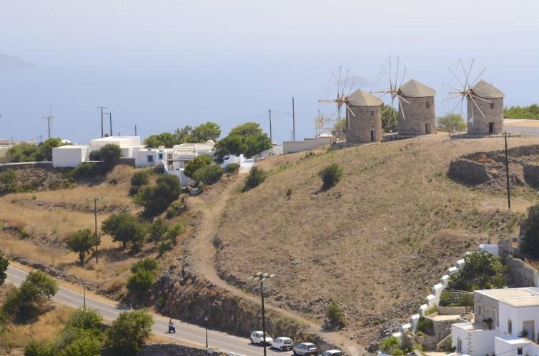 Ville plan large 2 - Patmos - 3 îles grecques - Destination, Grèce