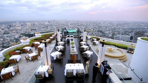 Terrasse - Le Sky Bar - Deux incroyables terrasses à Bangkok - Destination, Bangkok, Thaïlande
