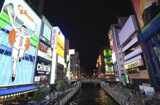 river - Virée à Osaka - restos, japon, asie, a-faire