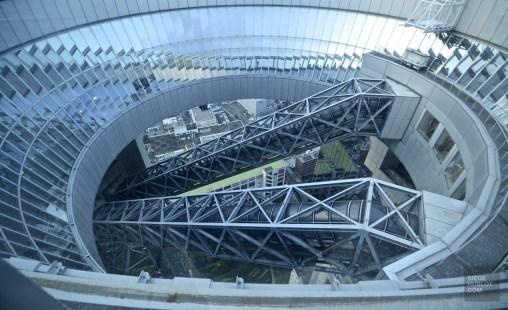 Umeda stairs - Virée à Osaka - restos, japon, asie, a-faire