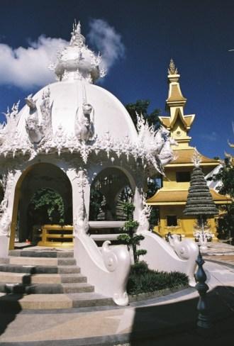 2-08 - Le temple blanc - thailande, asie, a-faire