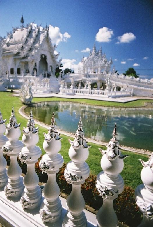 2-16 - Le temple blanc - thailande, asie, a-faire