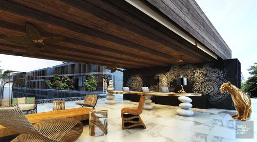 SO Lobby - So superbe à Hua Hin - thailande, hotels, asie