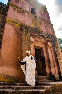pretre lalibela - Des eglise uniques au monde, ethiopie - afrique, ethiopie