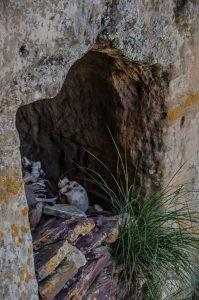 squelette moine - Des eglise uniques au monde, ethiopie - afrique, ethiopie