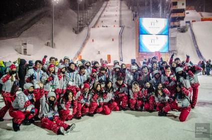 benevole coreen ski pyeongchang - PyeongChang, le ski de bosses! - Un petit saut aux Olympiques - Asie, Corée du Sud