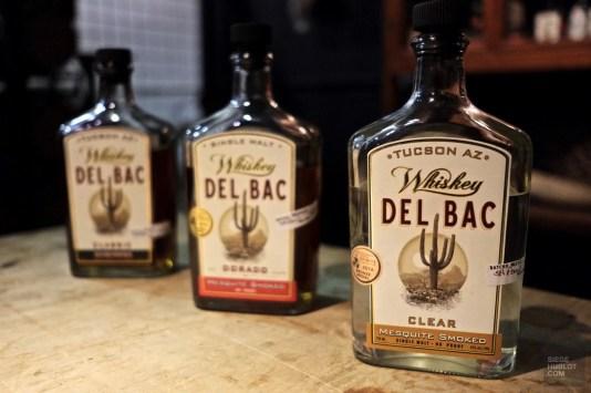 Bouteilles - Delbac Whiskey - Tout sur Tucson - Amérique, États-Unis, Arizona
