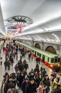 metro - Les Nords-Coreens - Coree du Nord, l'envers de la medaille - Asie, Coree du Nord