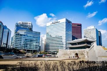 porte sud seoul ville - Seoul - Un petit saut aux Olympiques - Asie, Corée du Sud
