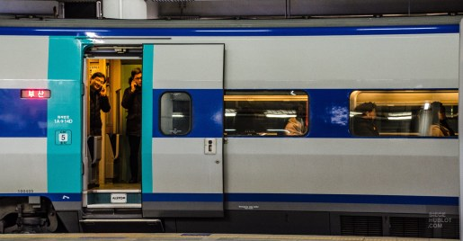 train wagon - Train haute vitesse - Un petit saut aux Olympiques - Asie, Corée du Sud