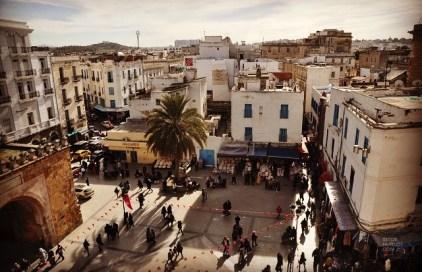 porte place médina - Tunis - Tunisie, de la mer au désert - Afrique, Tunisie