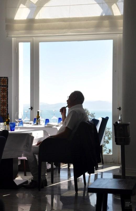 restaurant homme sidi bou said - Dar Zarrouk - Tunisie, de la mer au désert - Afrique, Tunisie