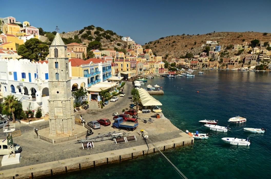 Symi port - Symi - Les îles grecques - Europe, Grèce