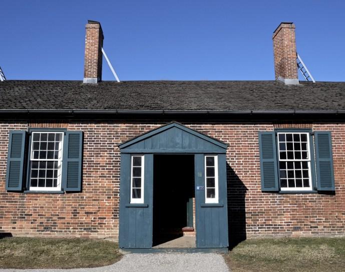 batiment briques - Fort York National Historic Site - Séjour à Toronto - Amérique, Canada, Ontario