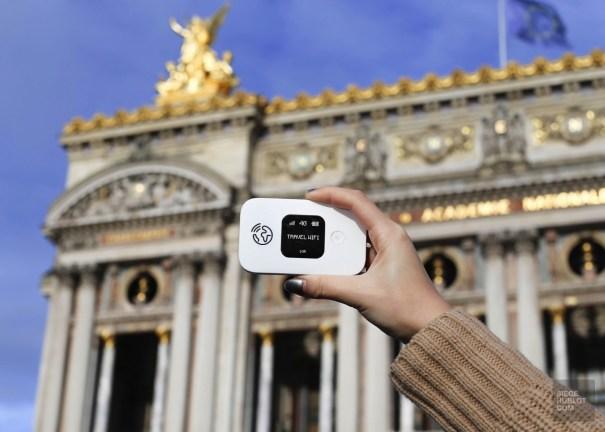 Paris boitier travel wifi Opera - Travel Wifi - Travel Wifi ou l'art de se simplifier la vie - Europe, France